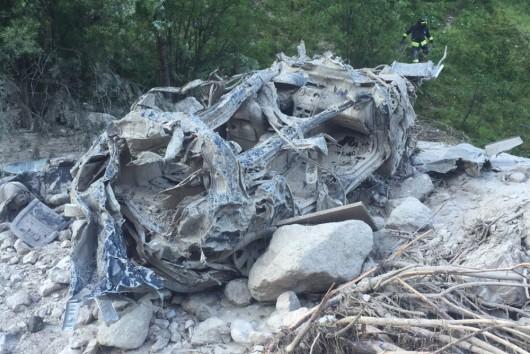 San Vito di Cadore, Włochy - Po ogromnej ulewie rzeka błota i kamieni porwała turystów -3