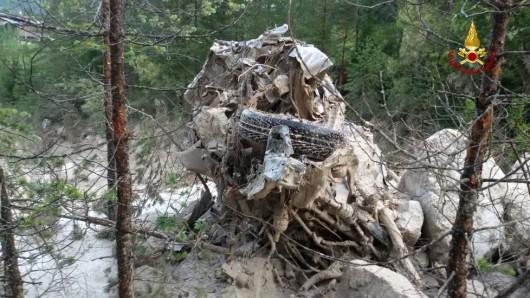 San Vito di Cadore, Włochy - Po ogromnej ulewie rzeka błota i kamieni porwała turystów -4