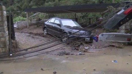 Tajwan - Do 17 wzrosła liczba ofiar tajfunu Soudelor -5