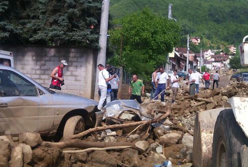 Tetowo, Macedonia - Nawałnica zniszczyła miasto -1