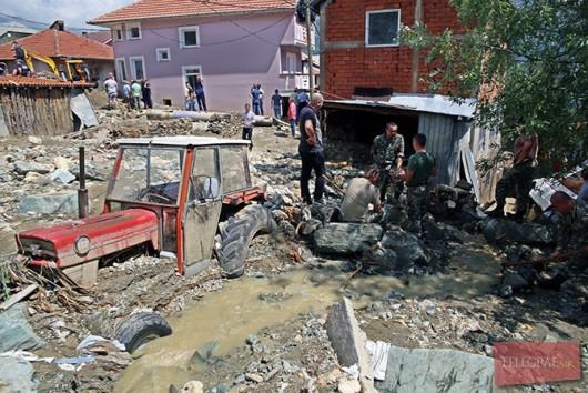 Tetowo, Macedonia - Nawałnica zniszczyła miasto -2