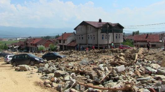 Tetowo, Macedonia - Nawałnica zniszczyła miasto -3