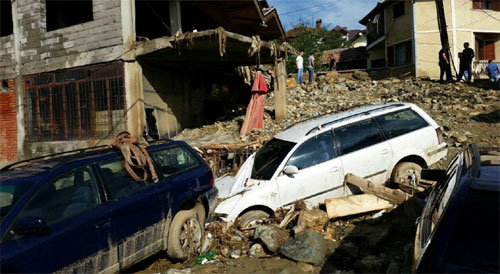 Tetowo, Macedonia - Nawałnica zniszczyła miasto -5