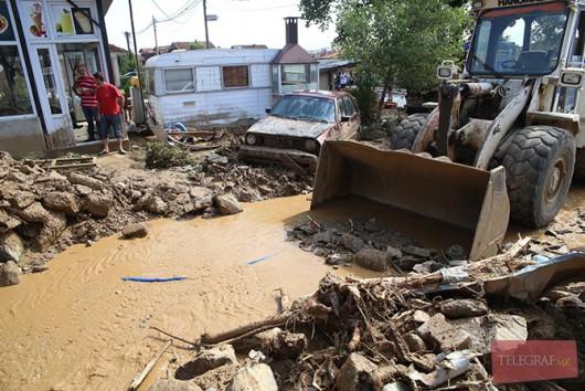 Tetowo, Macedonia - Nawałnica zniszczyła miasto -7