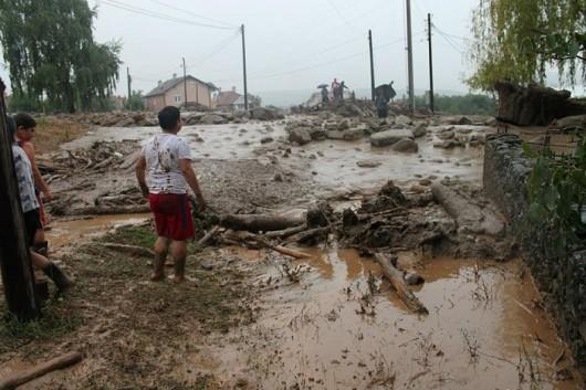 Tetowo, Macedonia - Nawałnica zniszczyła miasto -8