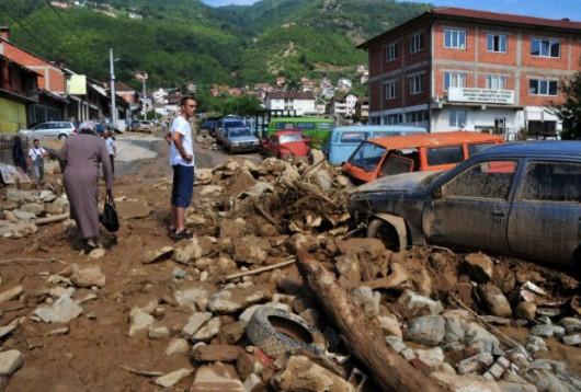 Tetowo, Macedonia - Nawałnica zniszczyła miasto -9