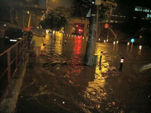 Timisoara, Rumunia - Ulewny deszcz w dwie godziny zatopił miasto -3