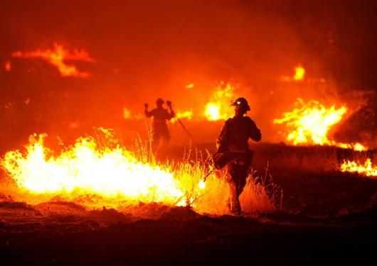 USA - W całej Kalifornii występuje aktualnie 20 pożarów -1