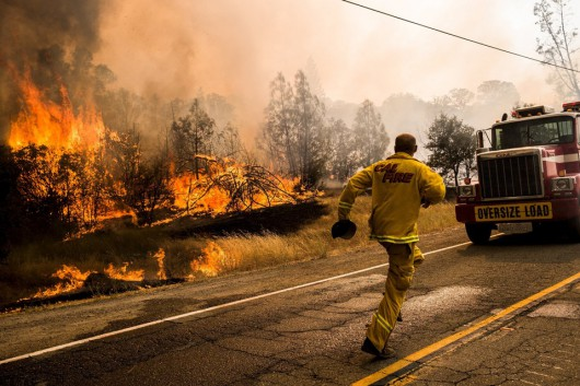 USA - W całej Kalifornii występuje aktualnie 20 pożarów -3