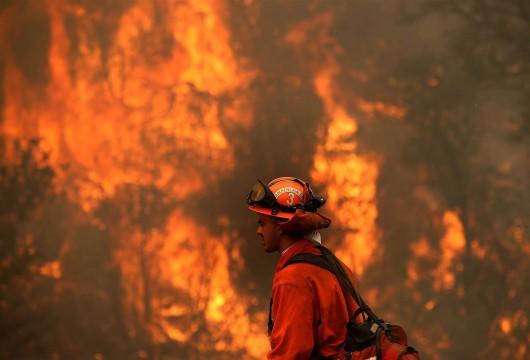 USA - W całej Kalifornii występuje aktualnie 20 pożarów -5