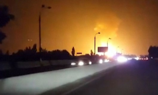 Uzbekistan - Potężna eksplozja gazociągu na przedmieściach Taszkentu 3