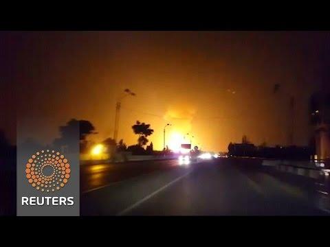 Uzbekistan - Potężna eksplozja gazociągu na przedmieściach Taszkentu