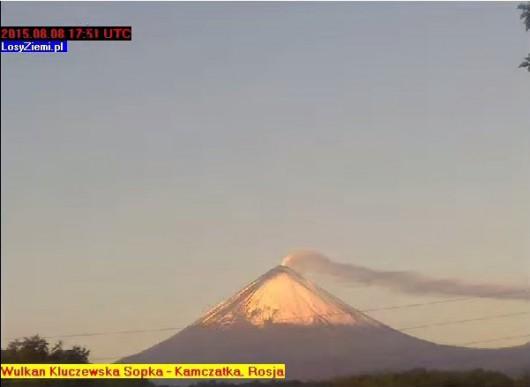 Wulkan - Kluczewska Sopka