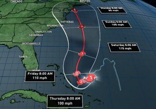 Burza tropikalna Joaquin kieruje się na Bahamy