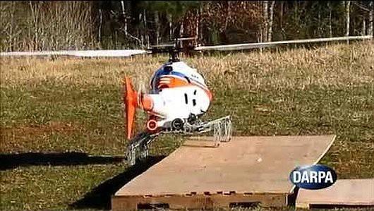 DARPA - Zaprojektowano nowy rodzaj podwozia dla helikopterów