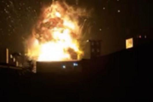 Dongying, Chiny - Potężna eksplozja w zakładach chemicznych -1