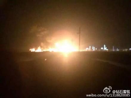 Dongying, Chiny - Potężna eksplozja w zakładach chemicznych -2