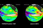 El Niño 1997 i 2015