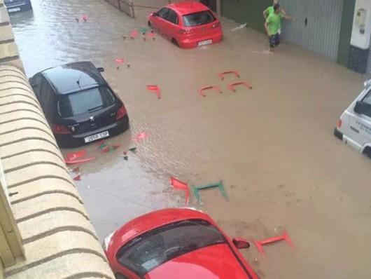 Hiszpania - Nawałnice nad Alicante, Adra, Granada i Almeria 2