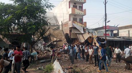 Indie - Eksplozja gazu w restauracji w stanie Madhja Pradeś, zginęły co najmniej 44 osoby -2