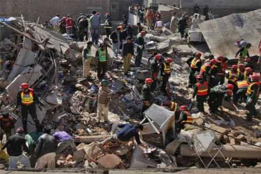 Indie - Eksplozja gazu w restauracji w stanie Madhja Pradeś, zginęły co najmniej 44 osoby -3