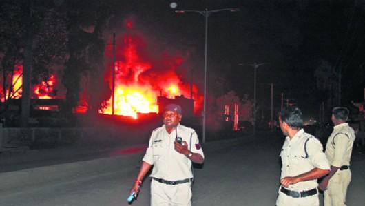 Indie - Eksplozja gazu w restauracji w stanie Madhja Pradeś, zginęły co najmniej 44 osoby