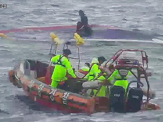 Korea Południowa - Zatonął kuter rybacki -1