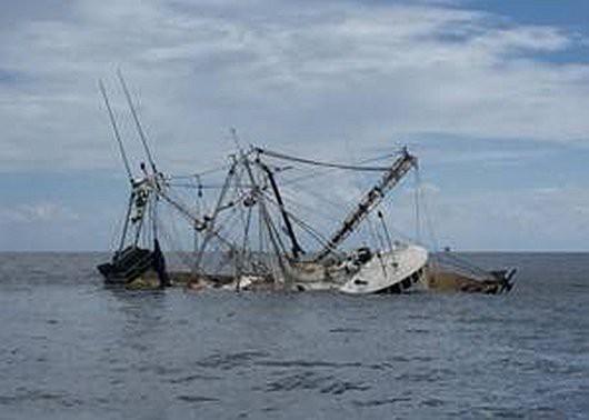 Korea Południowa - Zatonął kuter rybacki -2