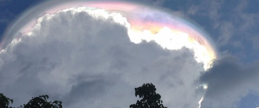 Kostaryka - Niezwykłe chmura w Dzień Niepodległości kraju -2