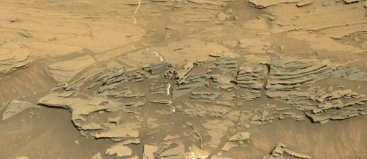 Mars - Tajemnicza struktura przypominająca łyżkę -3