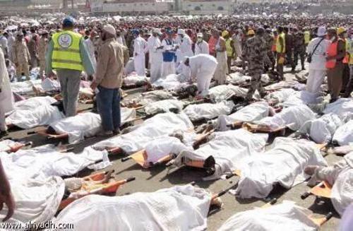 Mekka, Arabia Saudyjska - Co najmniej 717 ofiar śmiertelnych i 815 rannych w dolinie Mina -2