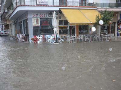Peloponez, Grecja - Potężne opady deszczu -6
