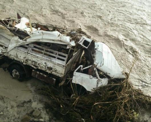 Piacenza, Włochy - Miejscami spadło 200 lmkw deszczu -10