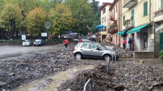 Piacenza, Włochy - Miejscami spadło 200 lmkw deszczu -3