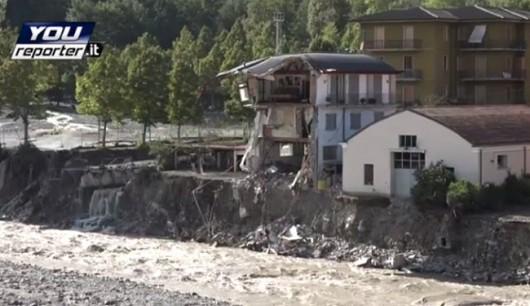 Piacenza, Włochy - Miejscami spadło 200 lmkw deszczu -6
