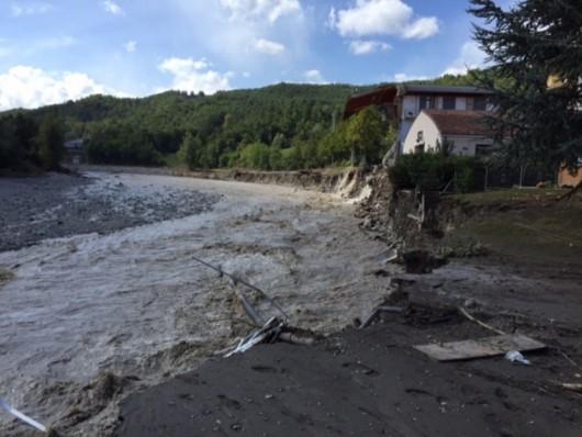 Piacenza, Włochy - Miejscami spadło 200 lmkw deszczu -7