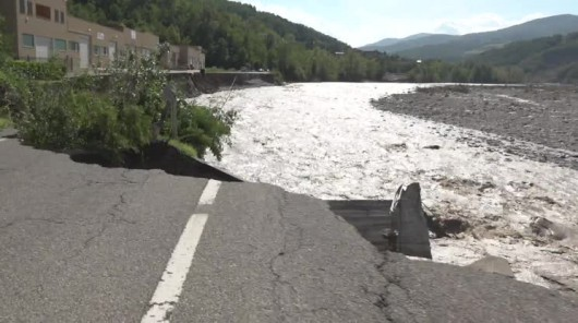 Piacenza, Włochy - Miejscami spadło 200 lmkw deszczu -8
