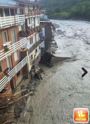 Piacenza, Włochy - Miejscami spadło 200 lmkw deszczu -9
