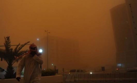 Potężna burza piaskowa na Bliskim Wschodzie -1