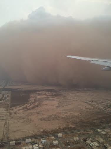 Potężna burza piaskowa na Bliskim Wschodzie -4