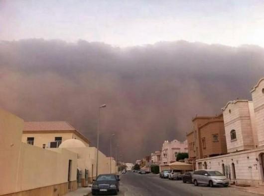 Potężna burza piaskowa na Bliskim Wschodzie -6