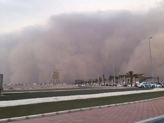 Potężna burza piaskowa na Bliskim Wschodzie -7