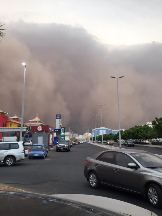 Potężna burza piaskowa na Bliskim Wschodzie -8