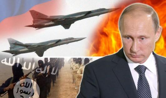 Rosja rozpoczęła naloty na Syrię