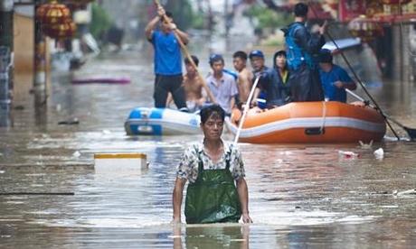 Tajwan - Ponad 1.2 mln osób bez prądu przez tajfun Dujuan -10