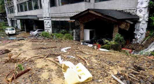 Tajwan - Ponad 1.2 mln osób bez prądu przez tajfun Dujuan -4