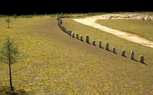 UK - Obok Stonehenge odkryto pod ziemią rząd olbrzymich neolitycznych głazów sprzed czterech i pół tysiąca lat -2