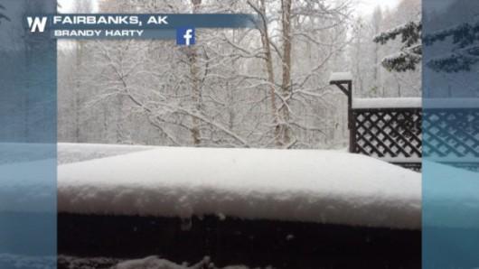 USA - Na Alasce odnotowano największe od 23 wrześniowe opady śniegu -2