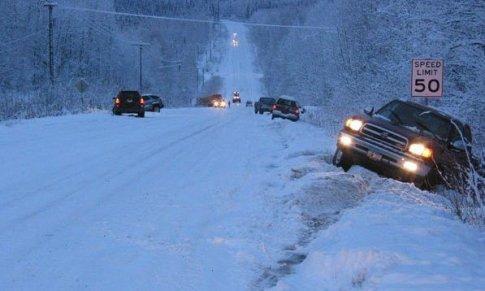 USA - Na Alasce odnotowano największe od 23 wrześniowe opady śniegu -3