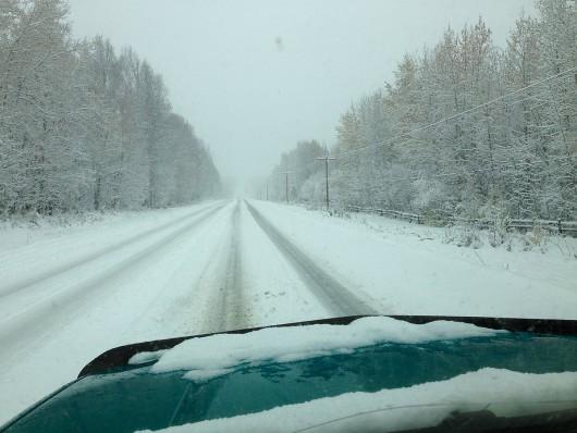 USA - Na Alasce odnotowano największe od 23 wrześniowe opady śniegu -4